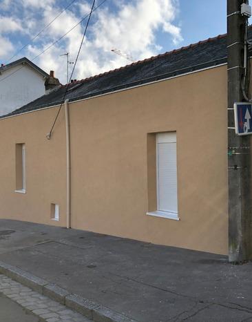 Isolation de façade avec laine de roche à Nantes