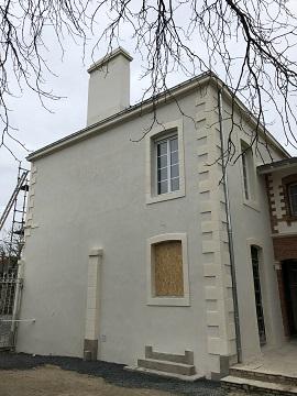 Restauration de façade ancienne à MAISDON SUR SEVRE