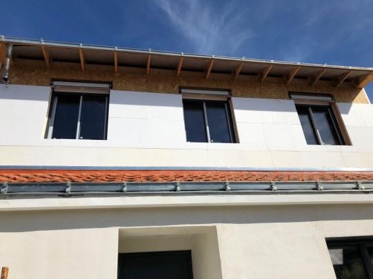 Isolation thermique par l'extérieur des maisons à ossature bois en Loire-Atlantique
